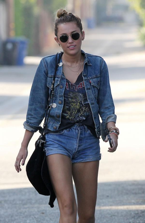 Street Style Miley Cyrus Nasty Style